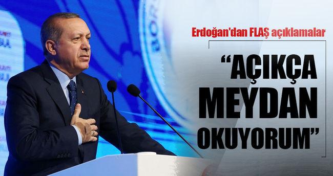 """Cumhurbaşkanı Erdoğan'dan flaş açıklama!  """"Elinizden geleni ardınıza koymayın"""""""