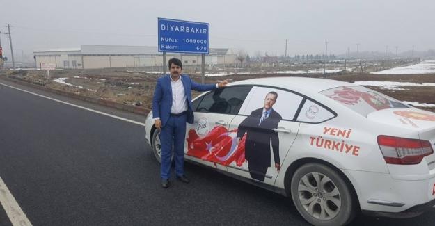 Evet Kampanyasına Destek İçin Türkiye'yi Geziyor