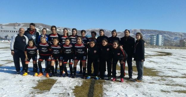 Aksaray'ın bayan futbol yıldızları