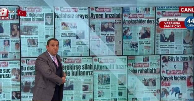 Hürriyet'in 28 Şubat manşetleri