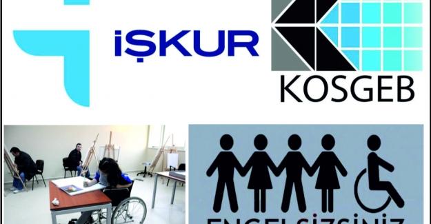 KOSGEB, Engellileri unutmadı