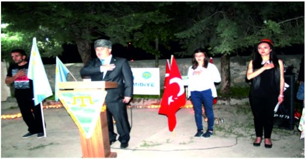Sürgün edilen 400 bin Kırım Türk'ü anıldı