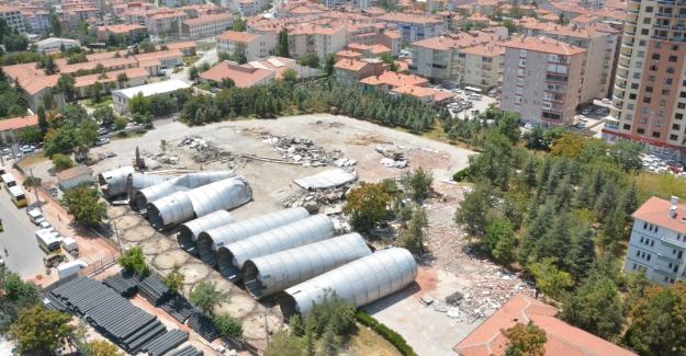 Aksaray'a yeni yaşam alanı