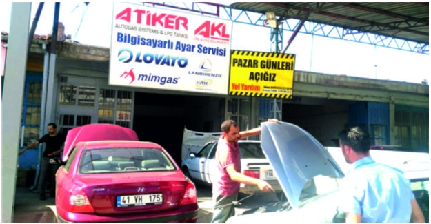 Sıcak Havalarda LPG'li Araçlara Dikkat