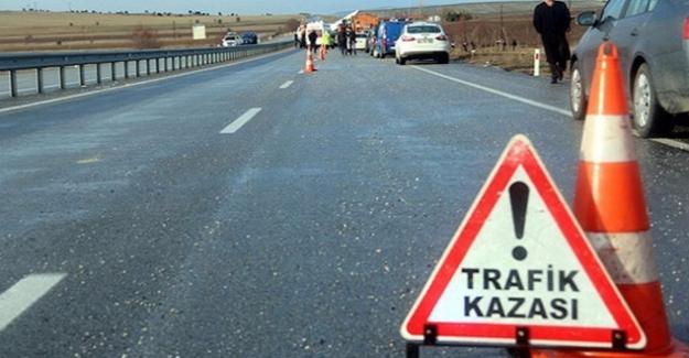 Aksaray'da trafik kazası 2 ölü, 4 yaralı