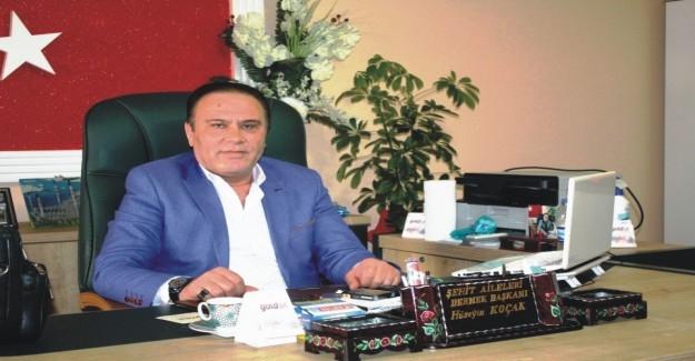 İç Anadolu Şehit Aileleri Dernek Başkanları Aksaray'da