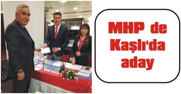 MHP de Kaşlı'da aday