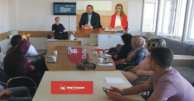 """Aksaray Eğitim ve Araştırma Hastanesi """"EĞİTİYOR"""""""