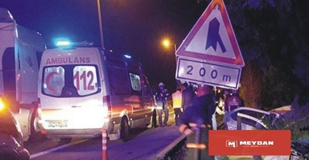 Teknofeste öğrencileri taşıyan araç kaza yaptı 2 ölü 16 yaralı