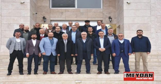 İş adamları ve bürokratlar Aksaray'da buluştu