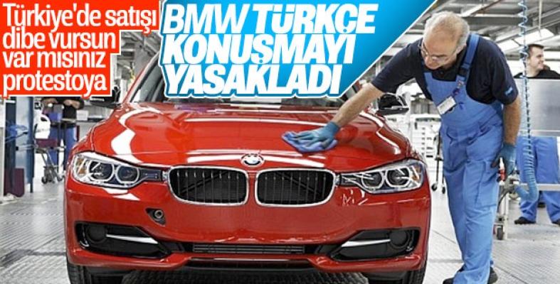 BMW fabrikasında işçiye Türkçe konuşma yasağı
