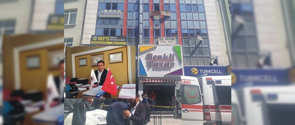 Avukatın bürosuna silahlı saldırı 2 ölü