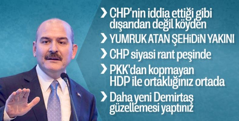 Bakan Soylu Kılıçdaroğlu'na yapılan saldırı hakkında konuştu