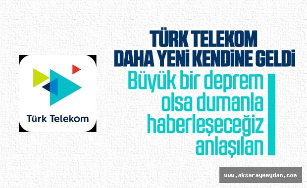 Türk Telekom depremle ilgili açıklama yaptı