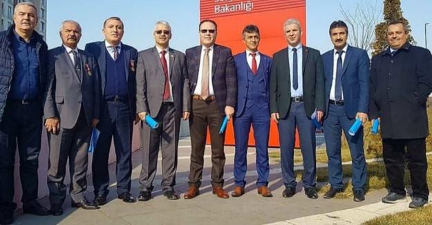 """İç Anadolu Şehit Aileleri ve Gazi Dernekleri """"Barış Pınarı"""" harekatının ve Ordunun yanında"""