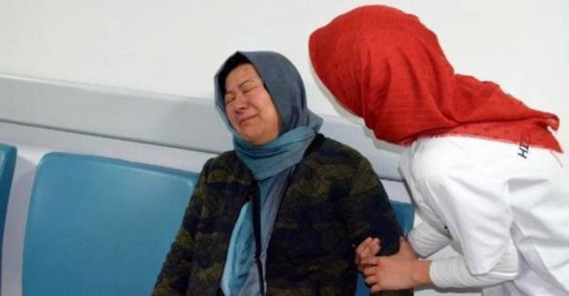 Eşi ve kızının kaza geçirdiğinde gözyaşlarına boğuldu