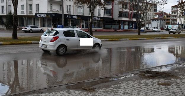 Aksaray'da yine yağmur klasiği