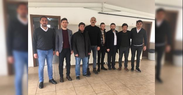 HÜDA PAR'dan Aksarayspor'a Destek Ziyareti