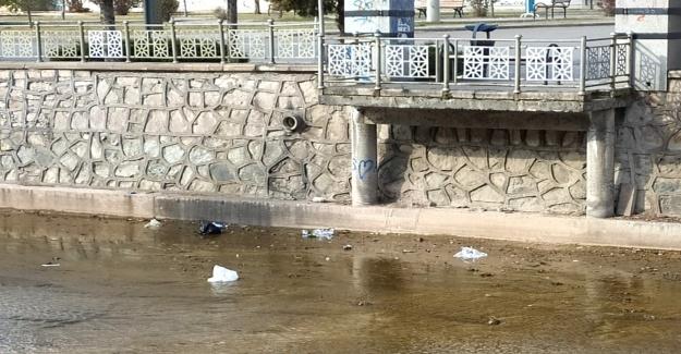Uluırmak'tan görüntü kirliliği