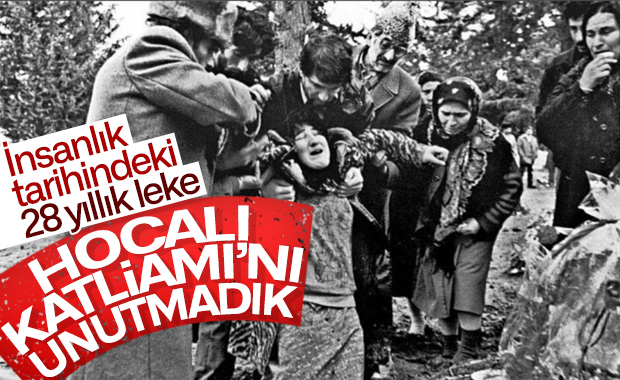 İnsanlık tarihinde ki 28 yıllık leke Hocalı Katliamı