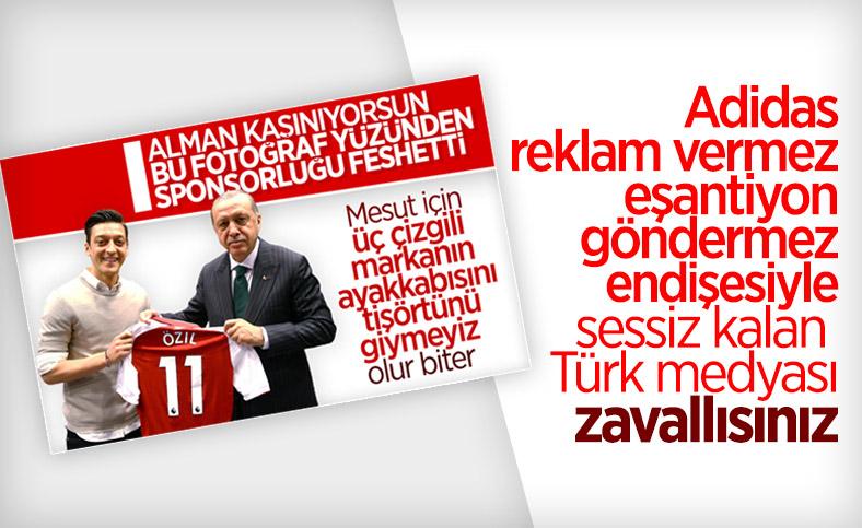 Türk medyası Mesut Özil'i yalnız bıraktı