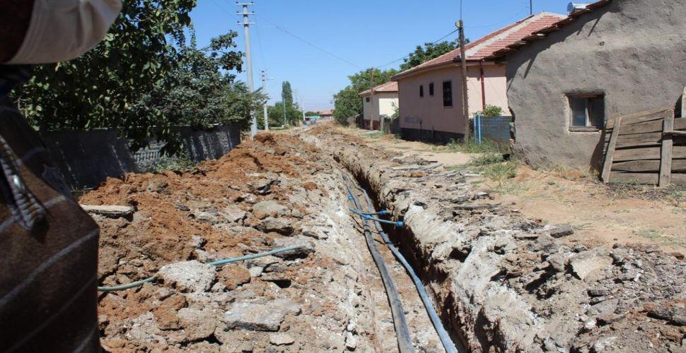 Sarıhasanlı Köyüne temiz su müjdesi