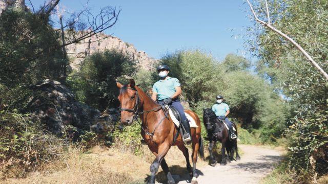 Turizm bölgelerinde atlı jandarma timleri göreve hazır!