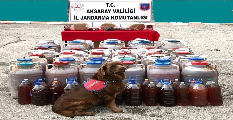 Sahte alkol satıcılarına operasyon