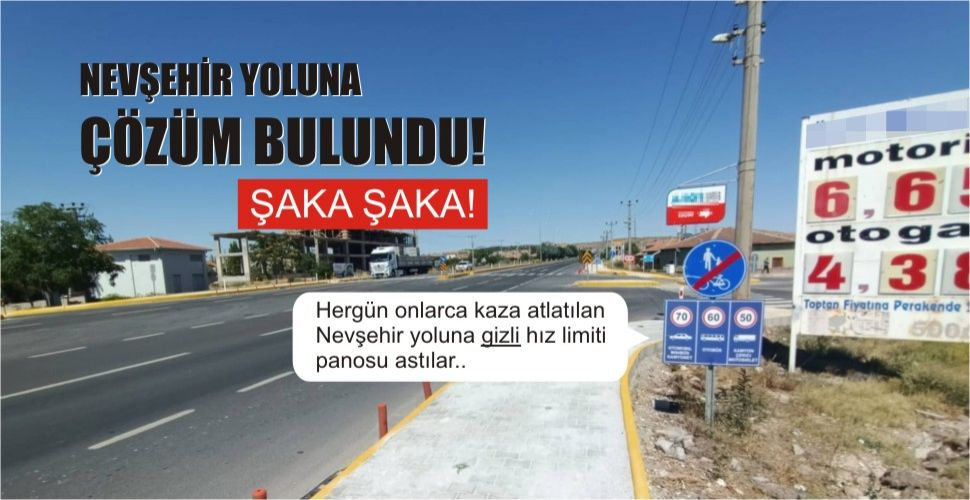 Nevşehir yolu çilesi devam ediyor..