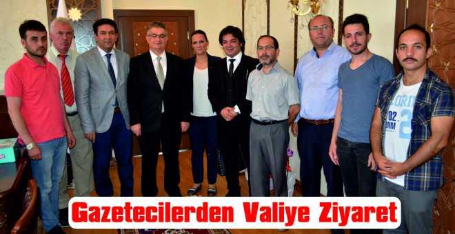 Gazetecilerden Valiye Ziyaret