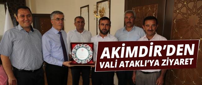 Akimder'den Vali Ataklı'yı Ziyaret