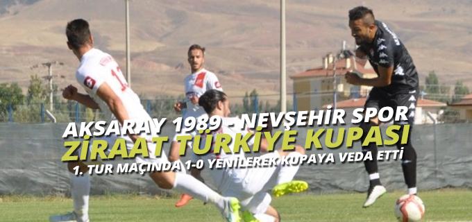 Aksaray 1989 Spor 0 - Nevşehirspor 1