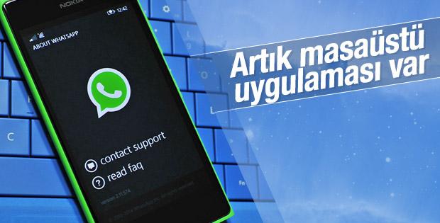 WhatsApp'ın masaüstü uygulaması yayınlandı