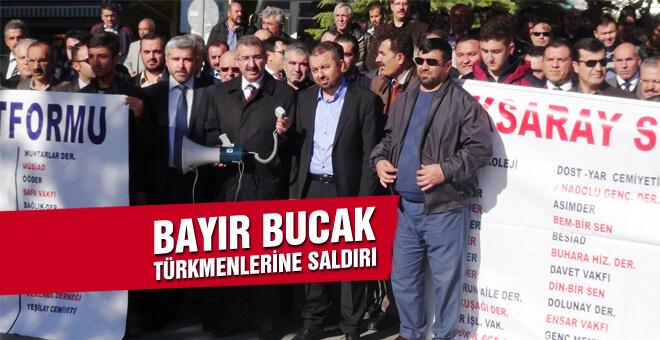 Bayır Bucak Türkmenlerine saldırı