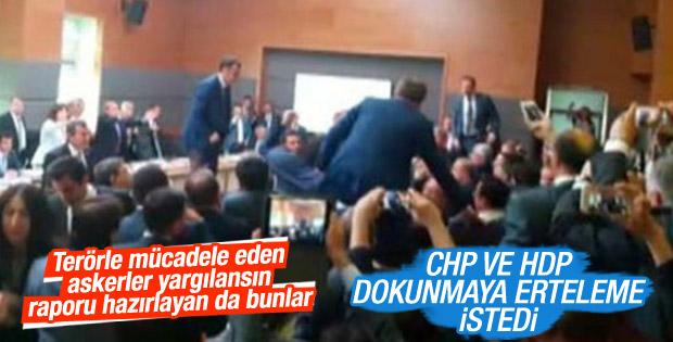 HDP ve CHP dokunulmazlık toplantısına erteleme istedi