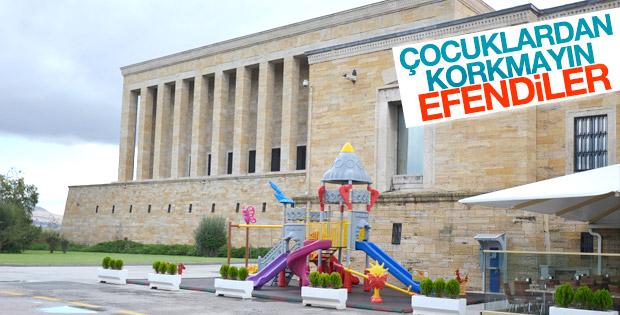 Anıtkabir'e çocuk parkı yapılmasına tepkiler var