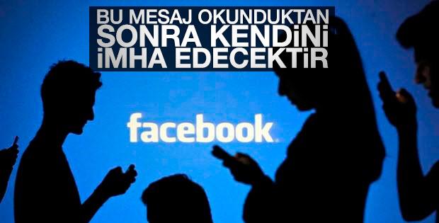 Facebook'a silinen mesaj özelliği geliyor