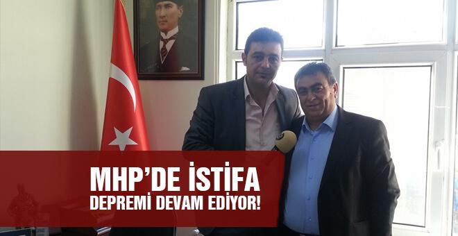 MHP'de istifa depremi devam ediyor!