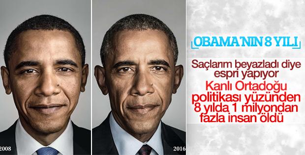 Obama'nın 8 yıllık başkanlık dönemi