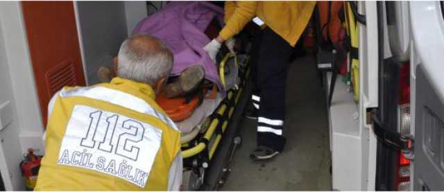 Kazada 2 Kişi Yaralandı