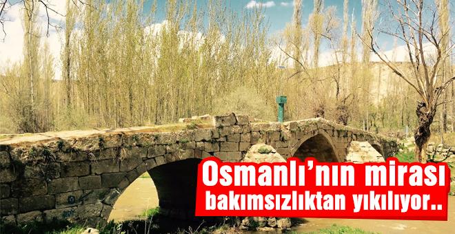 Osmanlı'nın mirası bakımsızlıktan yıkılıyor