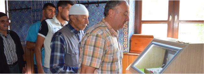Sakal-ı Şerif Ziyarete Açıldı