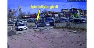 Hırsızlık İçin Girdi, Kamerayı Hesap Etmedi