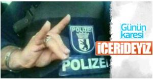 Alman polis teşkilatına...