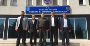 ASİAD'dan Aksaray Jandarma Alay Komutanına Ziyaret