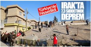 Irak 7,3 büyüklüğünde sallandı