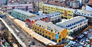 Belediye#039;ye ait ofisler pazarlık...