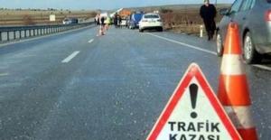 OSB yolunda kaza: 2 ölü, 6 yaralı