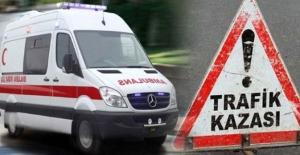 Öğrenci servisi kazasında:10 yaralı