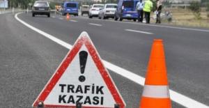 Aksaray'da  şarampole devrilen araçta 6 kişi yaralandı